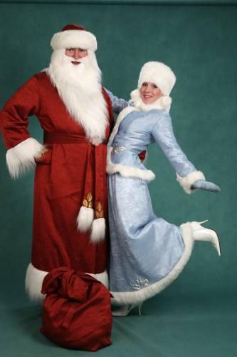 Картинки костюма снегурочки и деда мороза